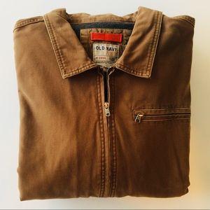 Old Navy Men's Field/Barn Jacket -Tan -  Size XXL